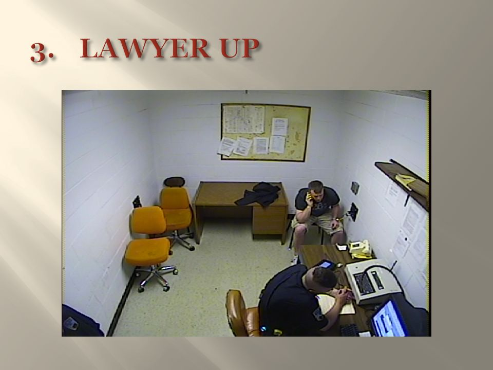 3. LAWYER UP