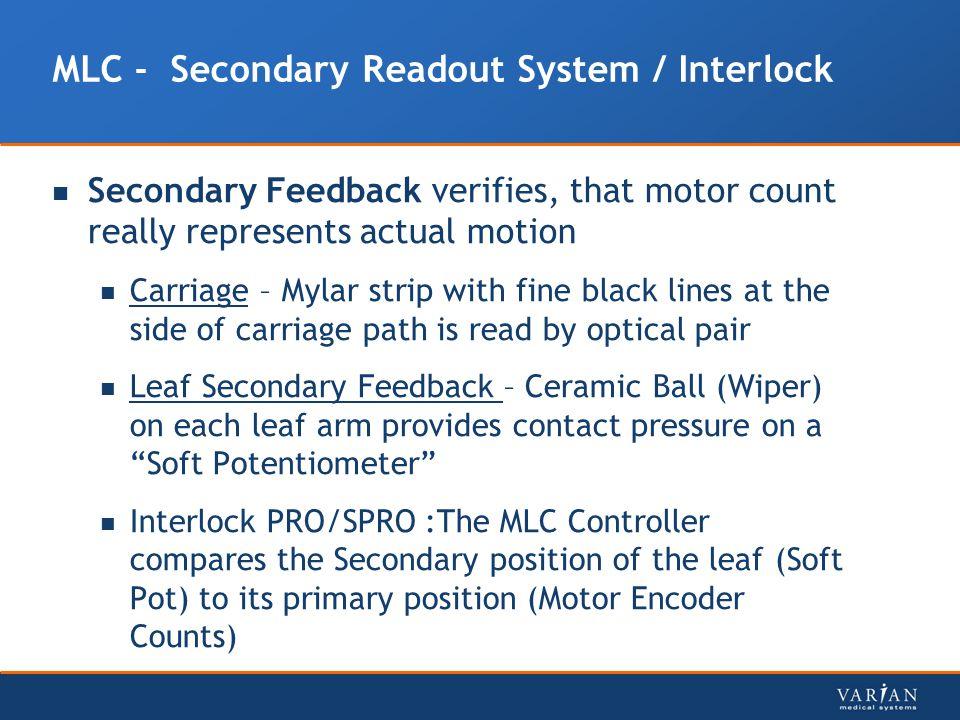 MLC - Secondary Readout System / Interlock