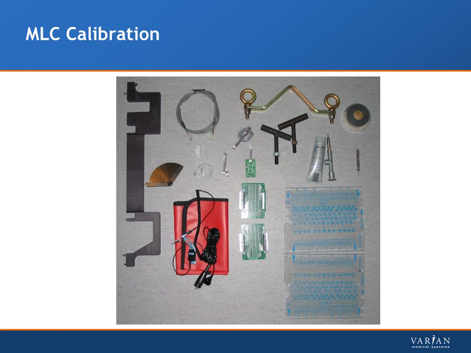 MLC Calibration
