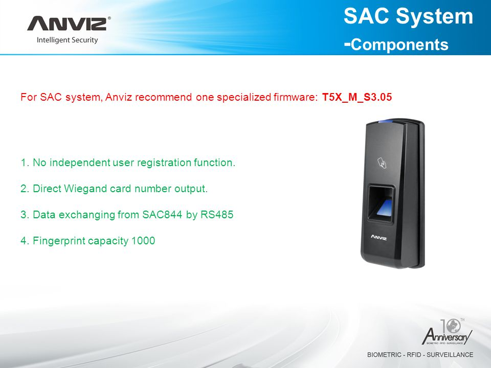 SAC System -Components