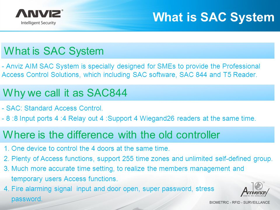 What is SAC System What is SAC System Why we call it as SAC844