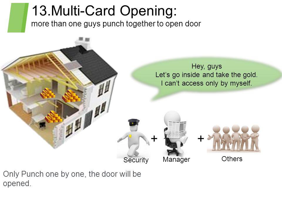 13.Multi-Card Opening: + +