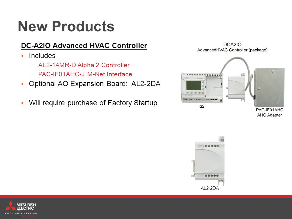 New Products DC-A2IO Advanced HVAC Controller Includes