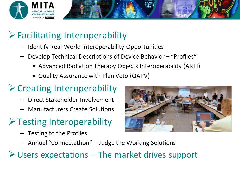 Facilitating Interoperability