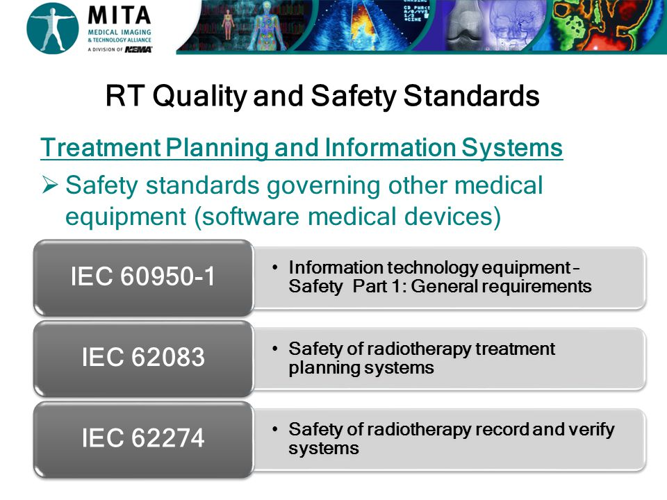RT Quality and Safety Standards