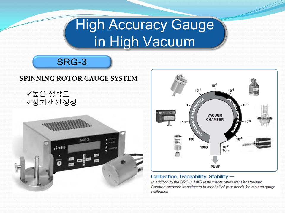 High Accuracy Gauge in High Vacuum