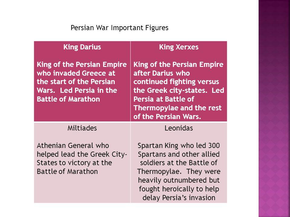Persian War Important Figures