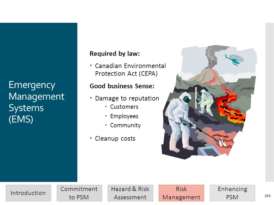 Emergency Management Systems (EMS)
