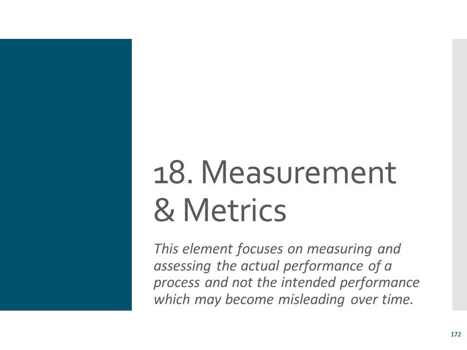 18. Measurement & Metrics