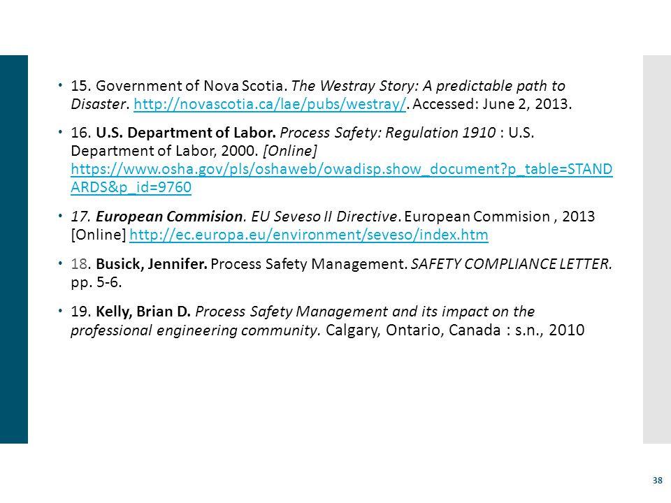 15. Government of Nova Scotia