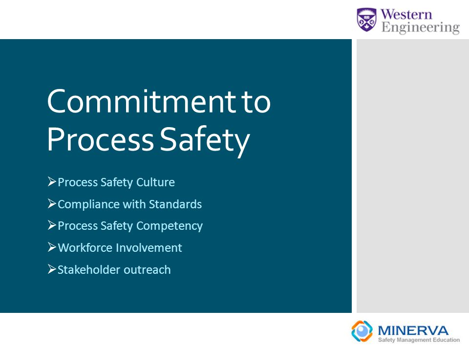 Commitment to Process Safety
