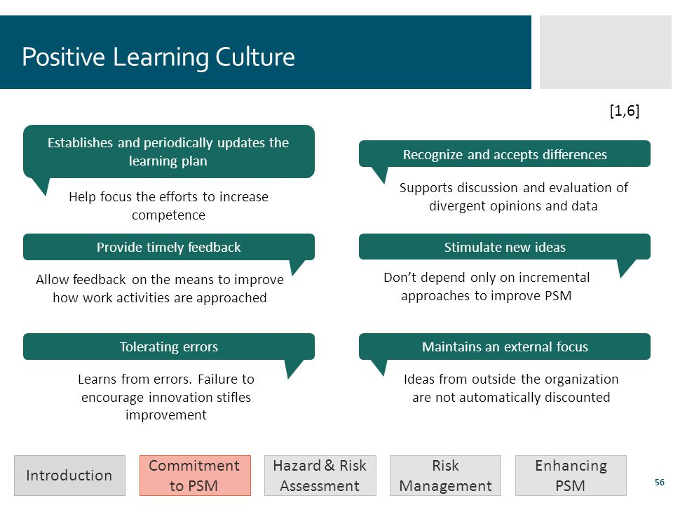 Positive Learning Culture