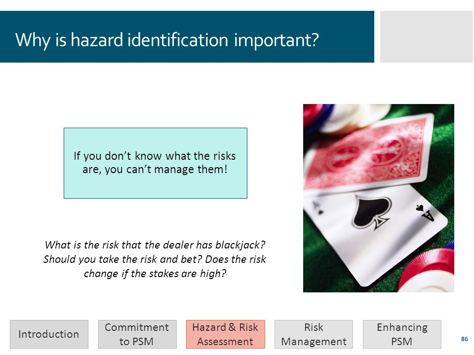 Why is hazard identification important
