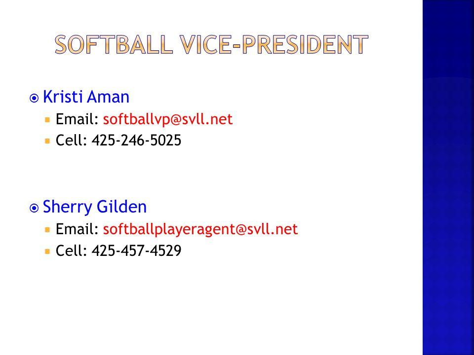 Softball Vice-President