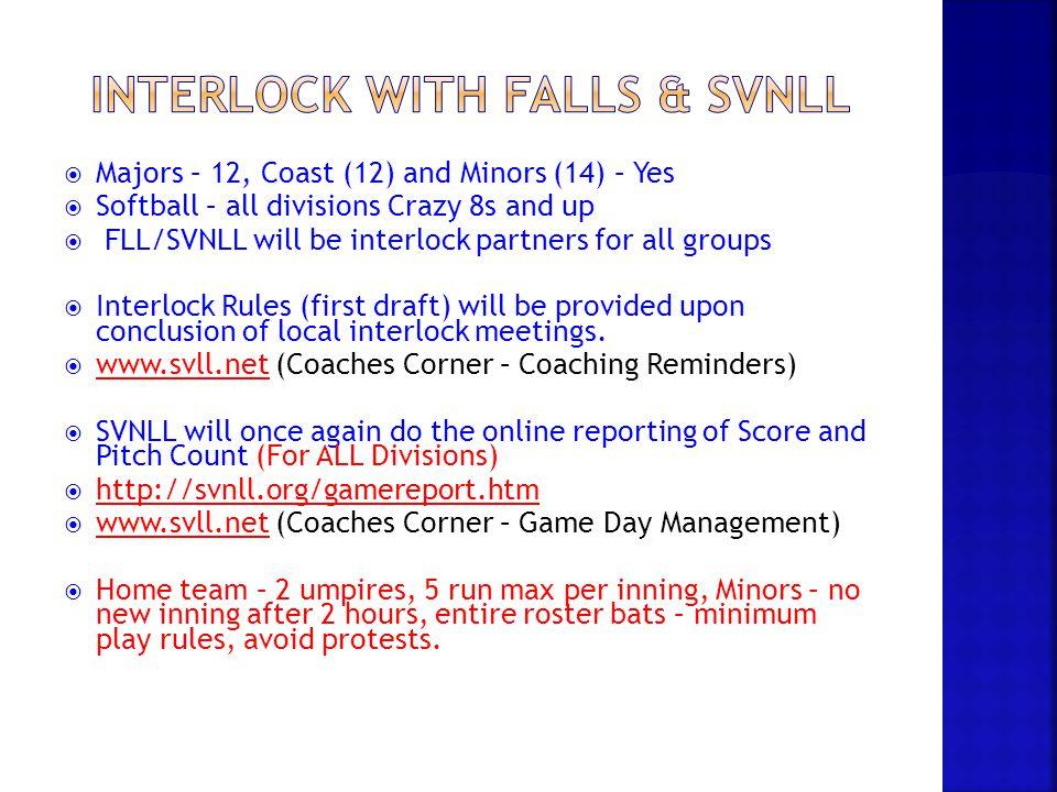 Interlock with Falls & svnll