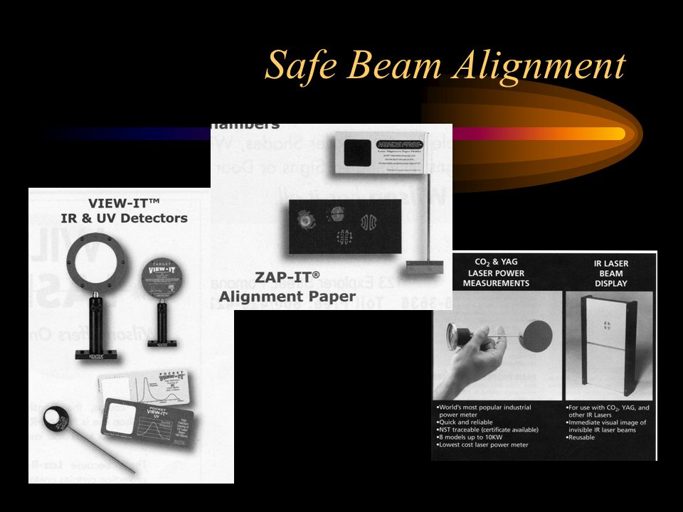 Safe Beam Alignment