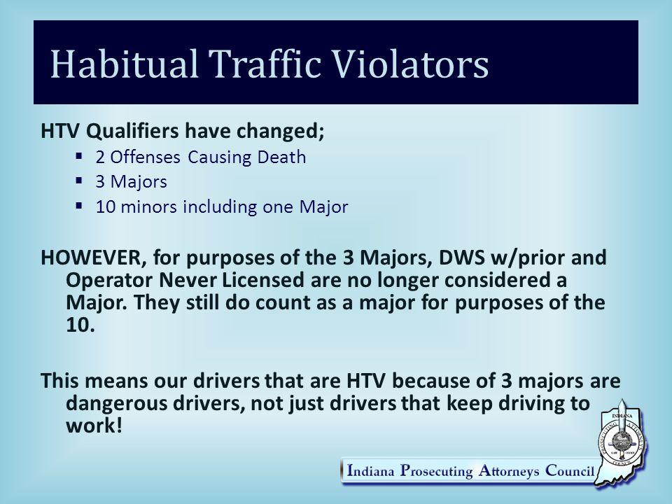 Habitual Traffic Violators