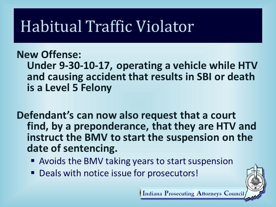 Habitual Traffic Violator
