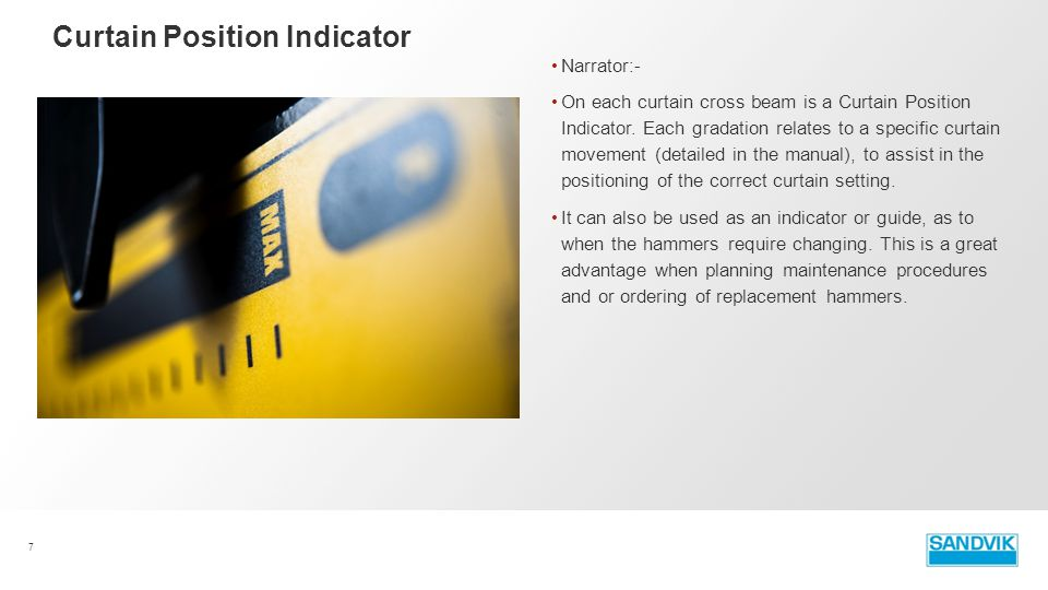 Curtain Position Indicator