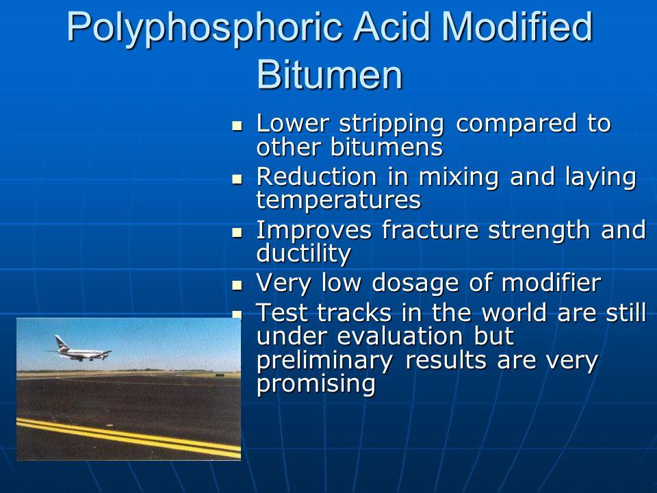 Polyphosphoric Acid Modified Bitumen