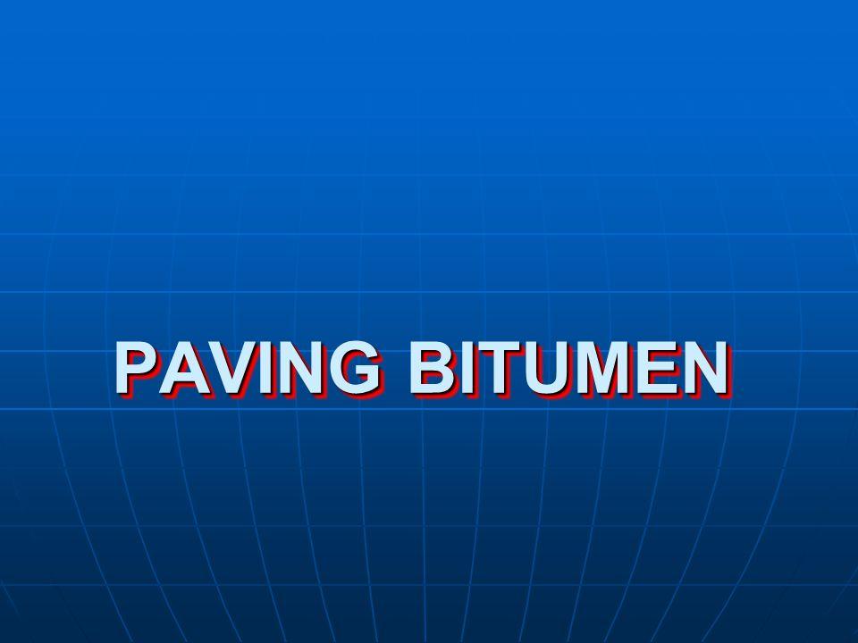 PAVING BITUMEN