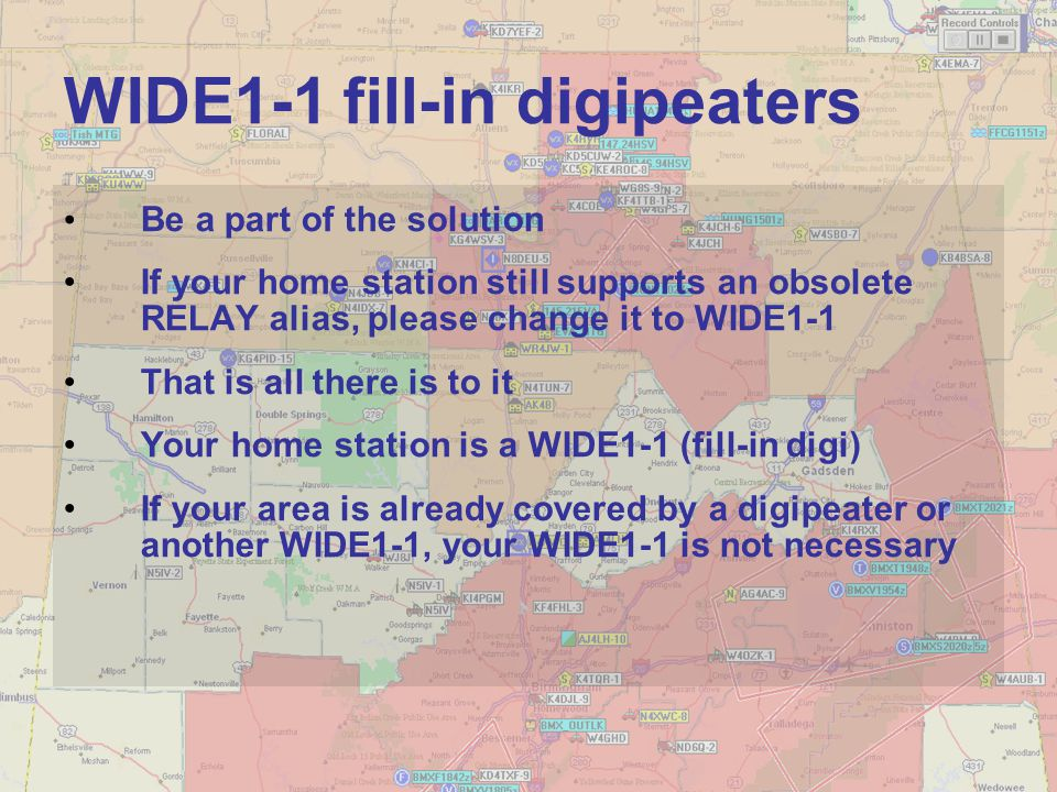 WIDE1-1 fill-in digipeaters