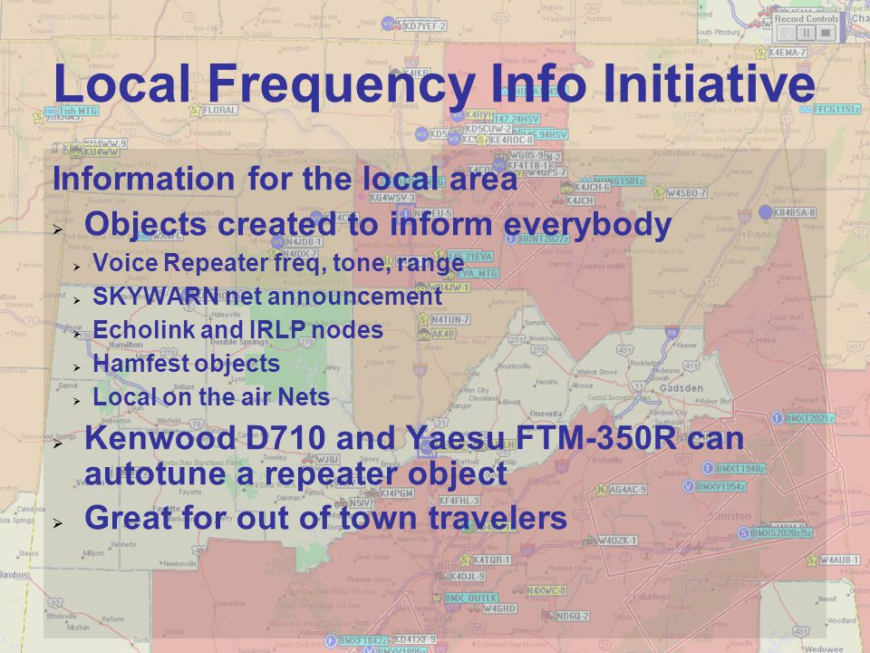 Local Frequency Info Initiative