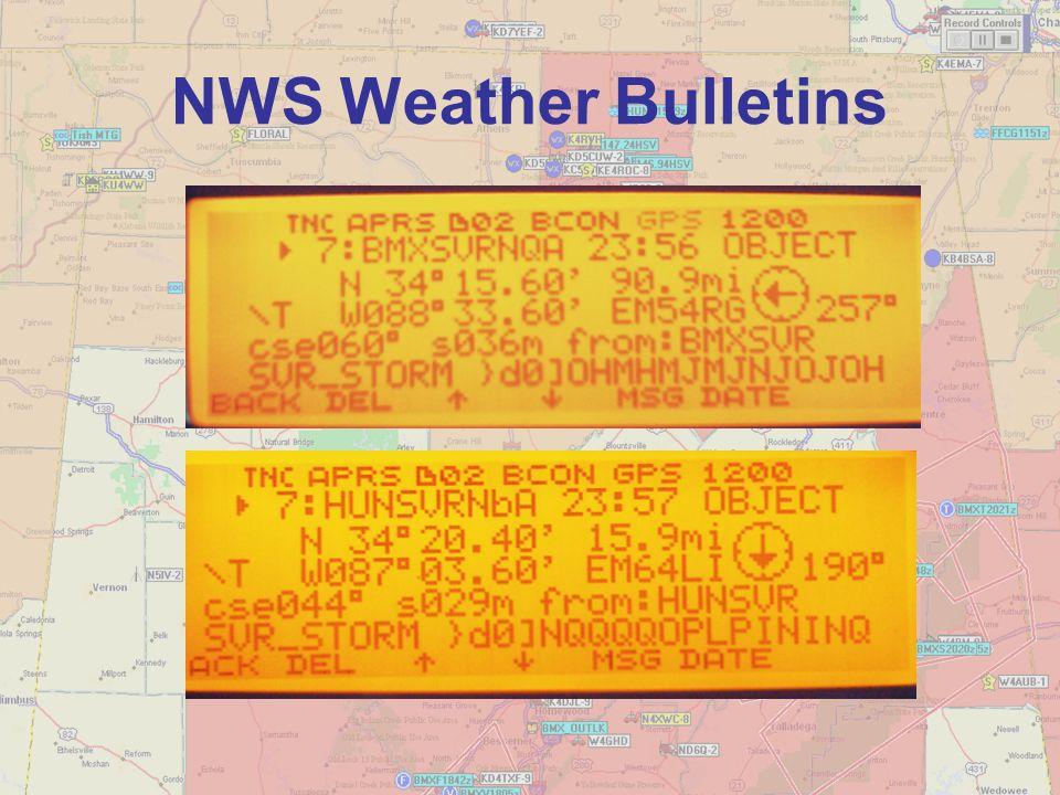 NWS Weather Bulletins