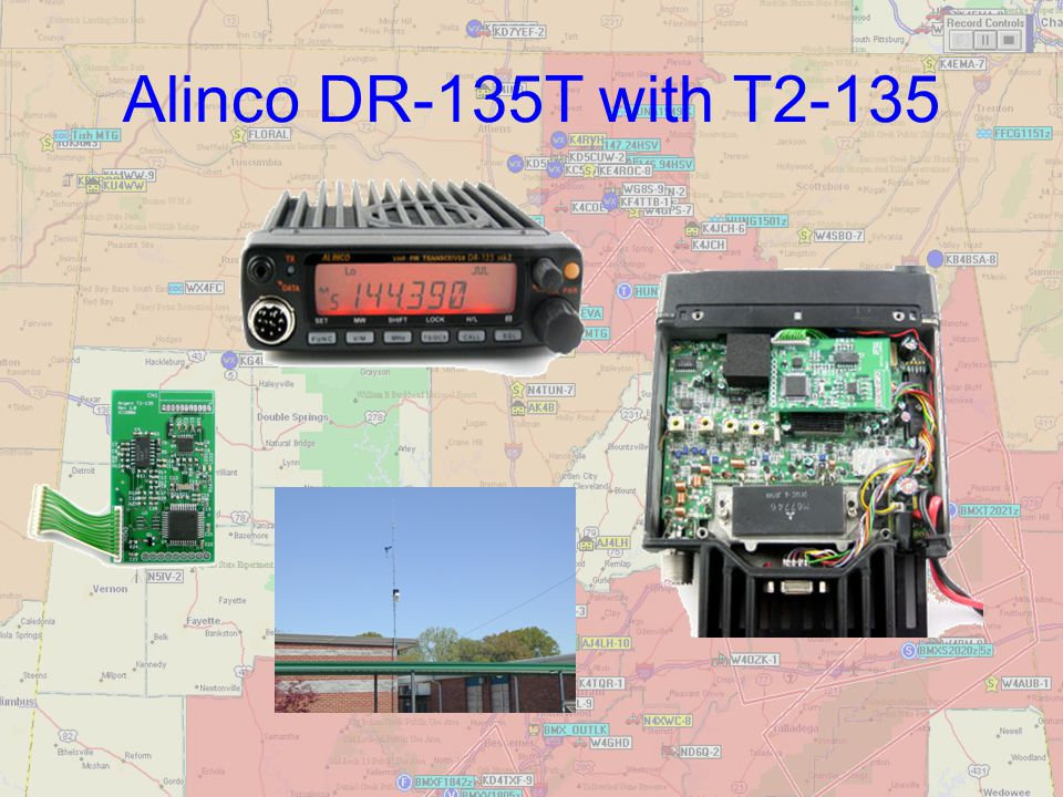 Alinco DR-135T with T2-135