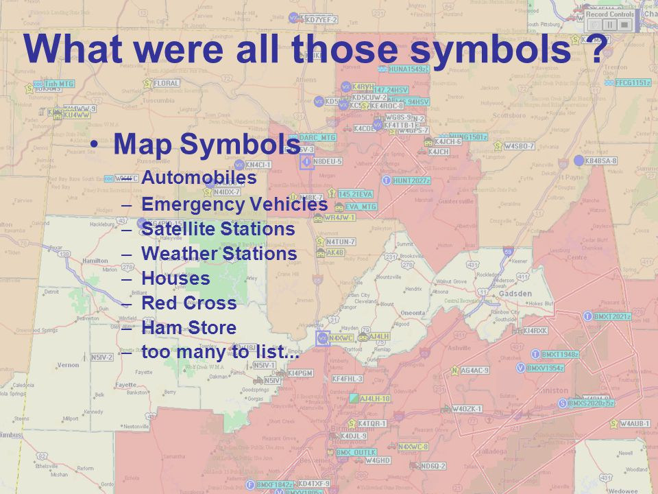 What were all those symbols