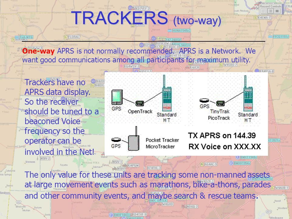 TRACKERS (two-way)