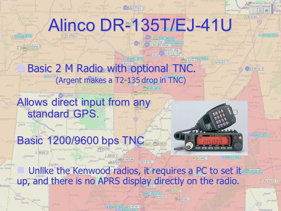 Alinco DR-135T/EJ-41U Basic 2 M Radio with optional TNC.
