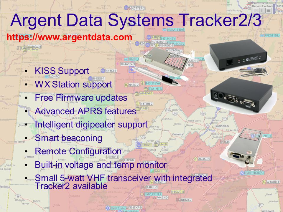Argent Data Systems Tracker2/3
