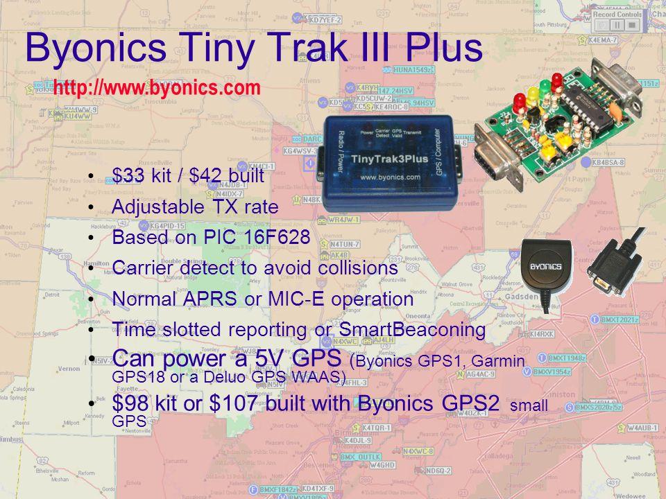 Byonics Tiny Trak III Plus