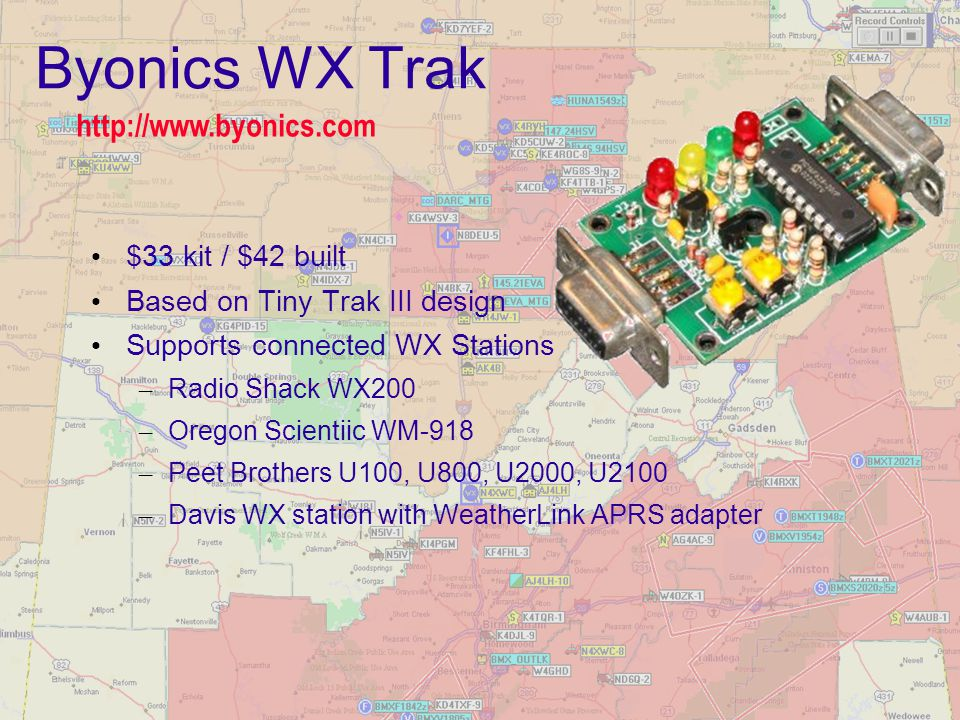 Byonics WX Trak http://www.byonics.com $33 kit / $42 built