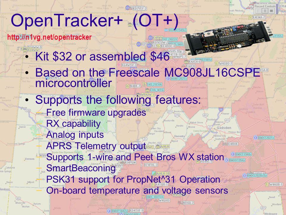 OpenTracker+ (OT+) Kit $32 or assembled $46