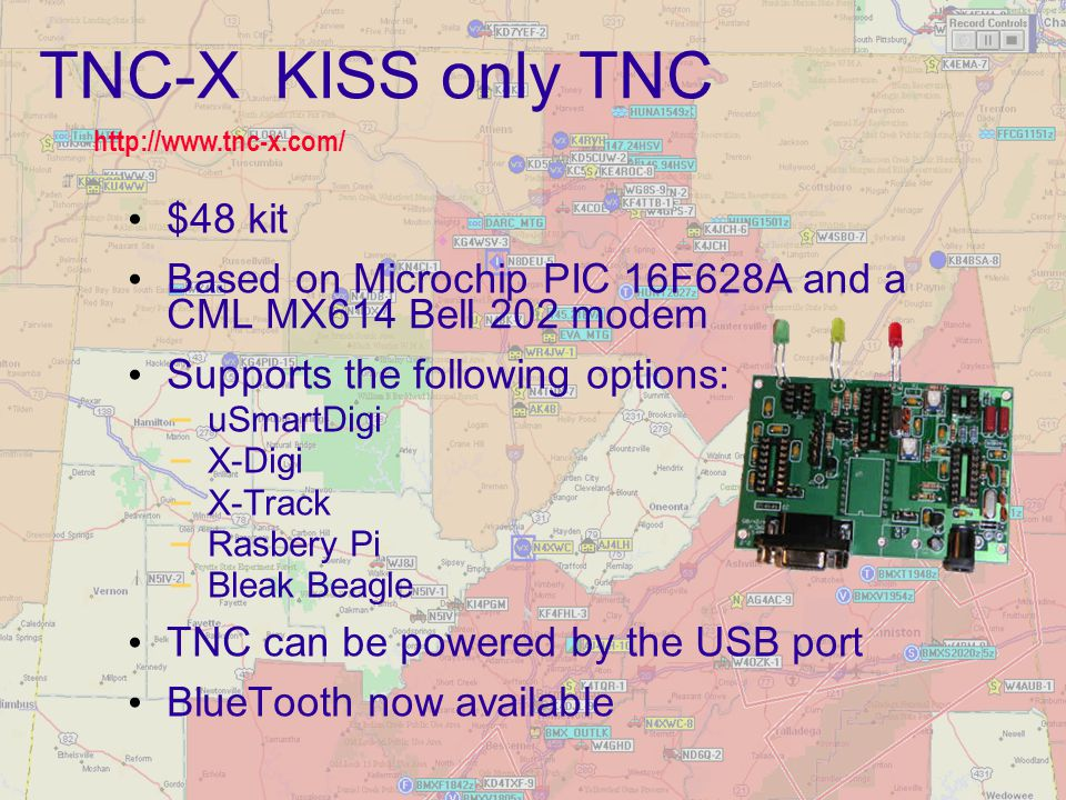 TNC-X KISS only TNC $48 kit