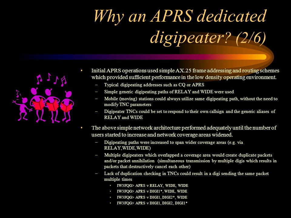 Why an APRS dedicated digipeater (2/6)