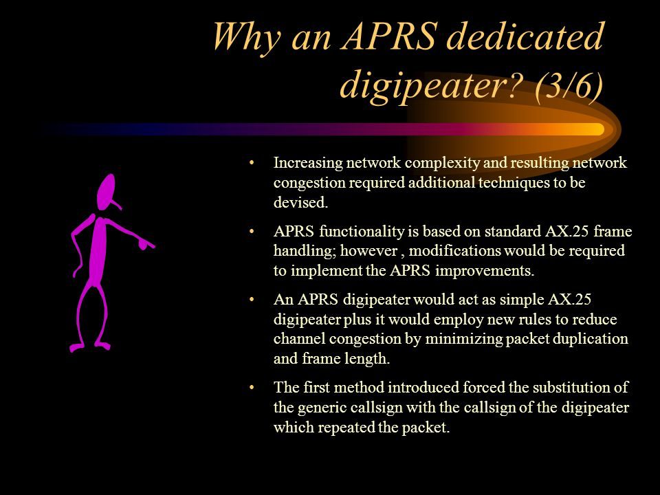 Why an APRS dedicated digipeater (3/6)