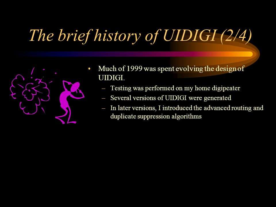 The brief history of UIDIGI (2/4)
