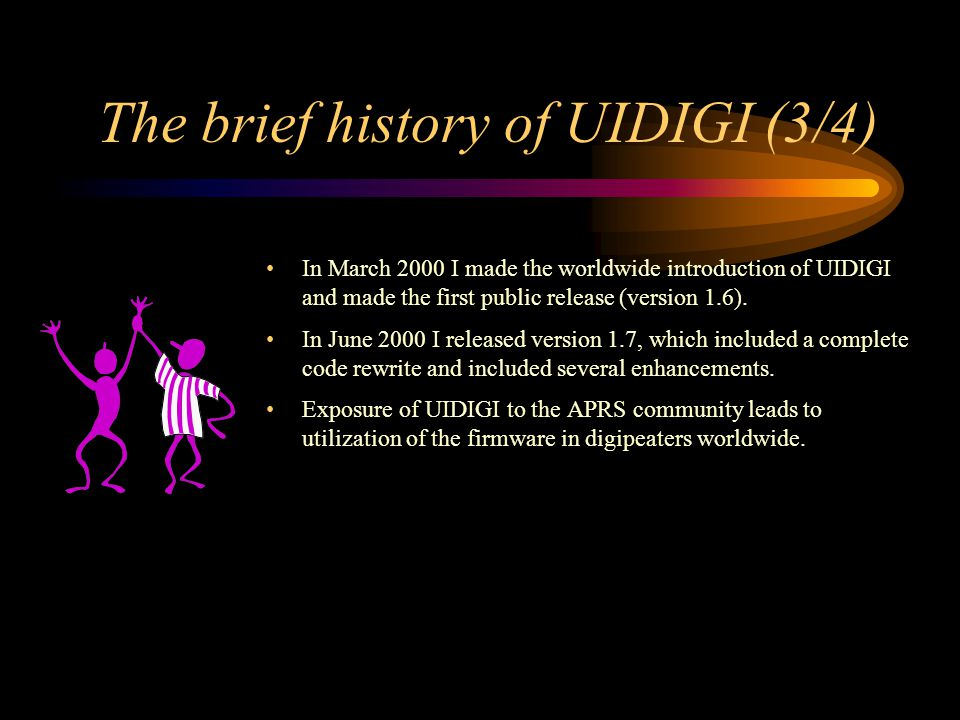 The brief history of UIDIGI (3/4)