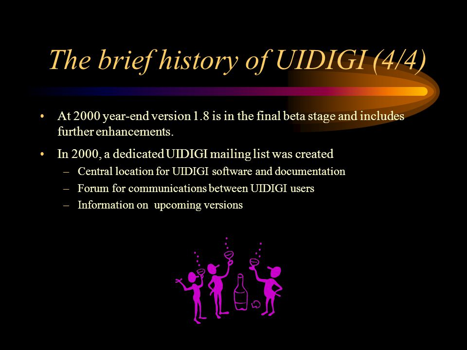 The brief history of UIDIGI (4/4)