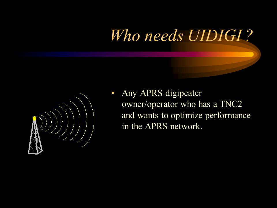 Who needs UIDIGI .