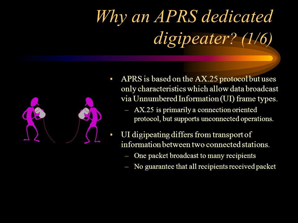 Why an APRS dedicated digipeater (1/6)