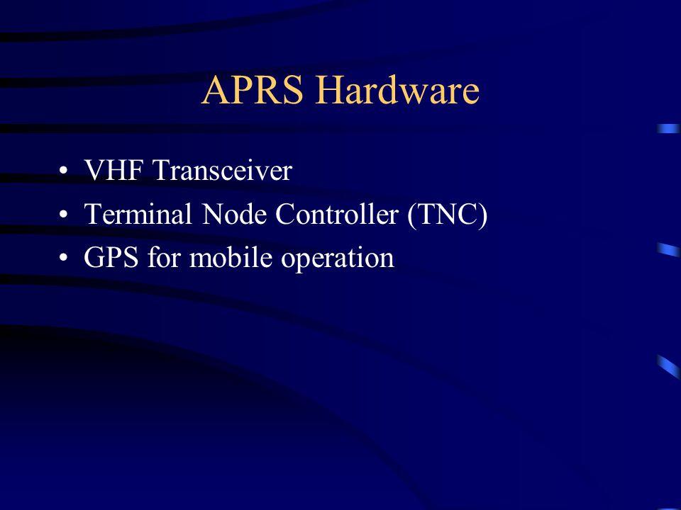 APRS Hardware VHF Transceiver Terminal Node Controller (TNC)