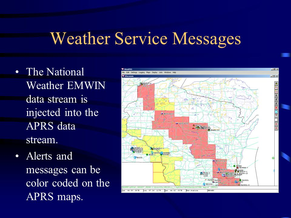 Weather Service Messages