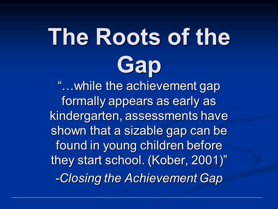 -Closing the Achievement Gap