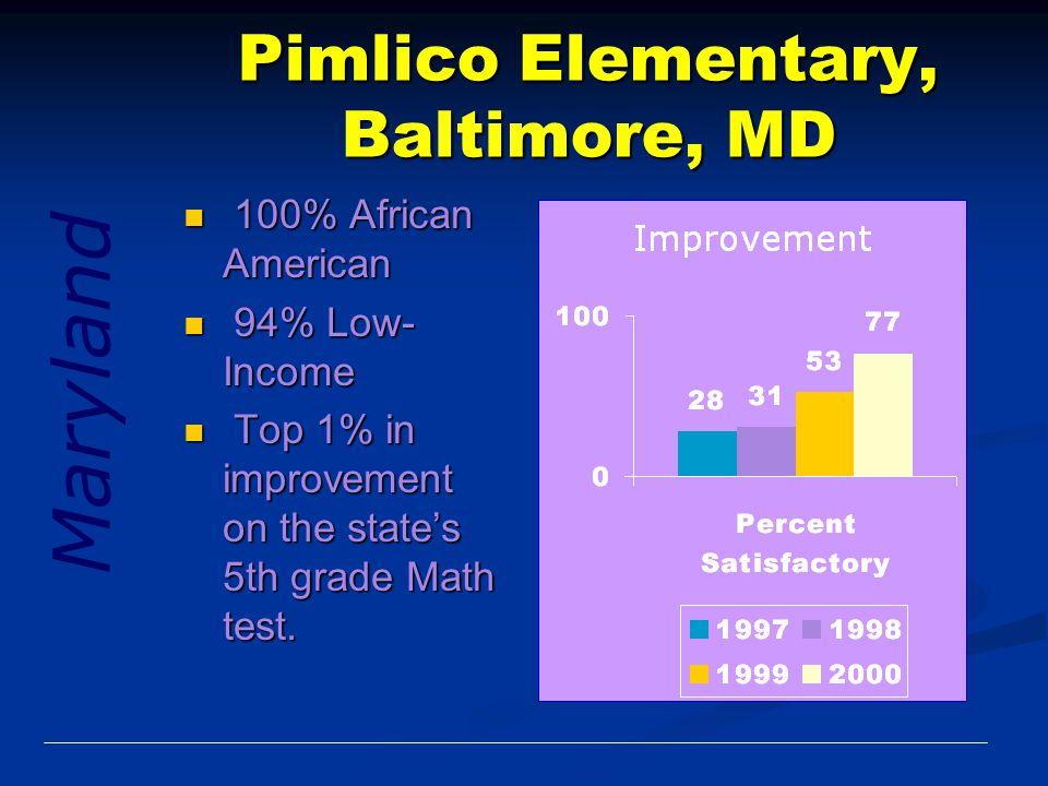 Pimlico Elementary, Baltimore, MD