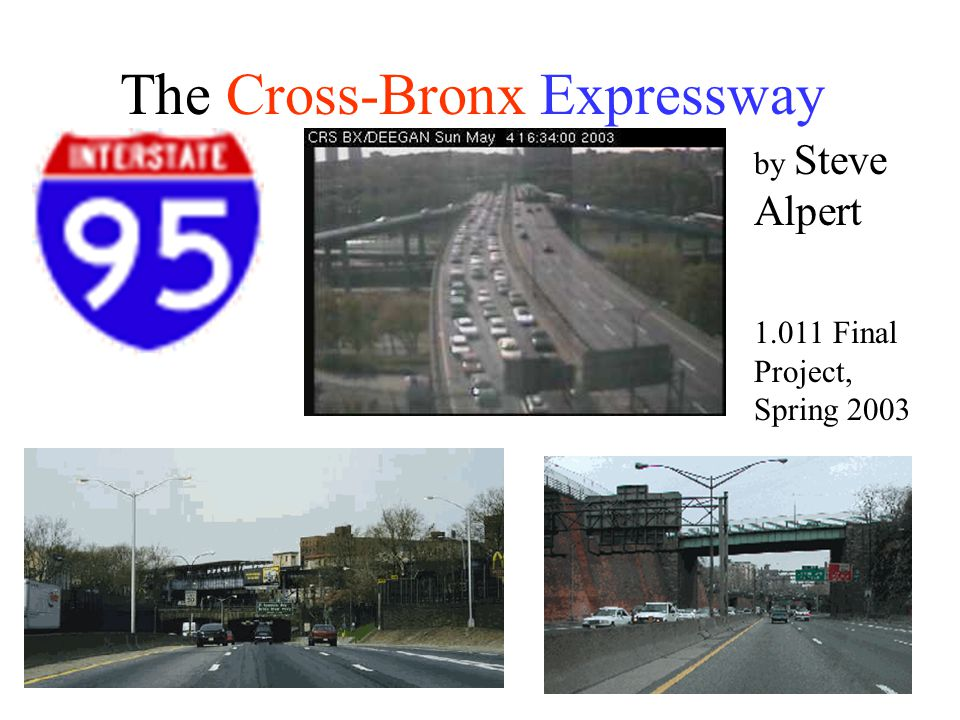 The Cross-Bronx Expressway