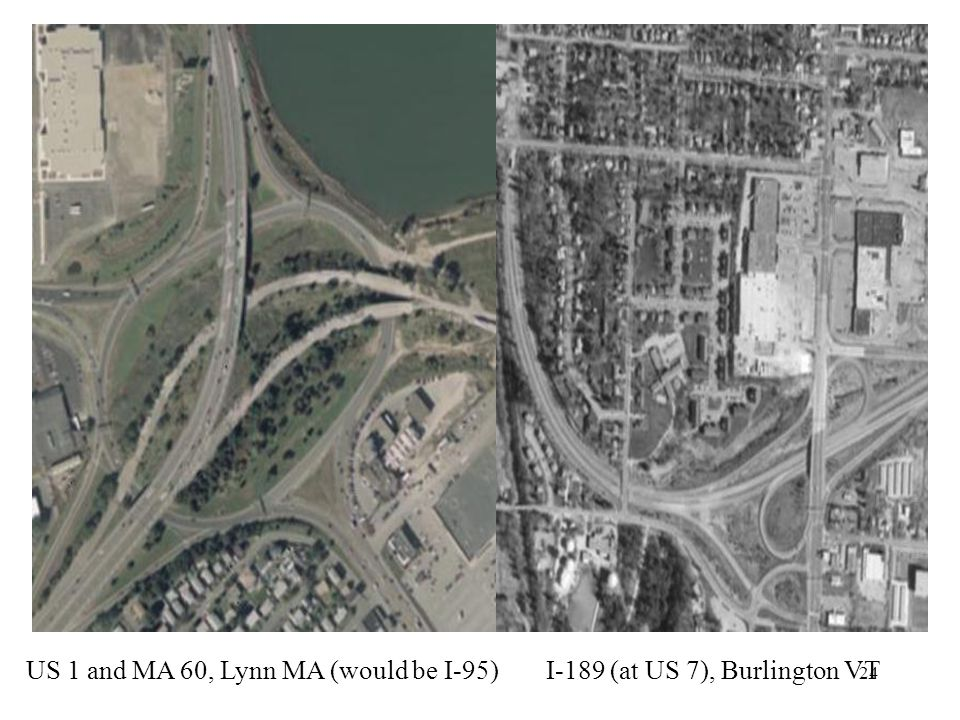 US 1 and MA 60, Lynn MA (would be I-95)